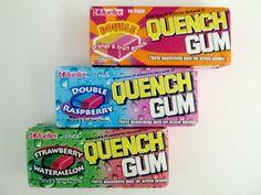 Quench gum