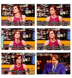 Emma Watson's True Confession About Her Childhood Crush