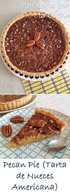 Twittear     La pecan pie o tarta de nueces pecanas es una de las recetas más famosas de repostería americana y uno de los po...