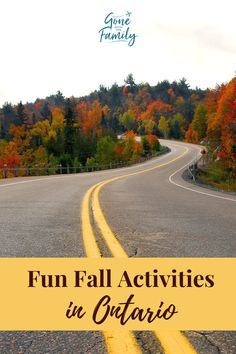 Is fall your favourite season too? Autumn can be fleeting in Canada so it's all the more important for us to get outdoors and enjoy the season. Winter will arrive before most of us are ready for it! These 10 fun fall activities in Ontario will get you out of the house so you can enjoy the best of the season. Travel Ideas, Travel Inspiration, Travel Tips, Family Vacations, Family Travel, Ontario Attractions, Visiting Niagara Falls, Discover Canada, Canada Destinations