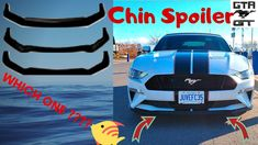 Automotive channel focused on mustangs. On this video, I need your help picking the right chin spoiler for the Whitelightning. Instant Video, I Need You, Convertible, Mustangs, Gta, Youtube, Places, Need You, Infinity Dress