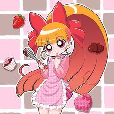 Tags: Power Puff Girls Z, Hyper Blossom, Akatsutsumi Momoko, cckk