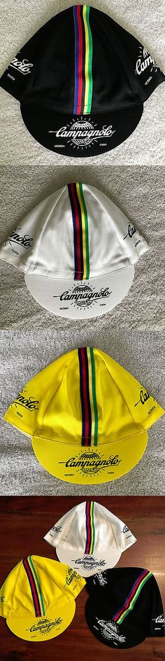 Hats Caps and Headbands 158994: Campagnolo Cycling Cap - Bike Hat - White, Black, Yellow Or All Three -> BUY IT NOW ONLY: $53.95 on eBay!