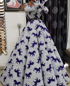 100 Latest Ankara Styles In Vogue For Smart Ladies/Women Long African Dresses, Latest African Fashion Dresses, African Print Fashion, African Print Dress Designs, Latest Ankara Styles, African Traditional Dresses, African Attire, Vogue, Maxi Dresses