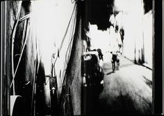 Blurred, grainy and out-of-focus- Takuma Nakahira  'For a Language to Come' is shot with harsh black and white images printed full bleed across every page and is essential viewing for anybody with an interest in the history of photography. It's a book of landscapes, urban landscapes where life clings to the shadows and corners of the pictures, where light burns like fire and the only solace is to be found in the underpasses and tunnels of the city that Nakahira portrays.