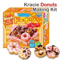 Popin Cookin Mini Tiny Doughnut Making Kit These are the ones using on YouTube! All the kids want these are they're so hard to find because they're in Japan! doughnuts donut donuts