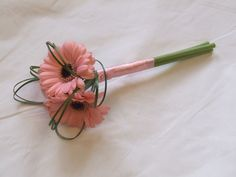 ball of flower arrangements for bridesmaids | ... gerberas are such fabulous flowers this was an idea easy to work with