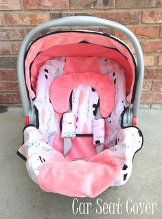 Aztec Feather Car Seat Canopy and Car Seat Cover in Blush, Mint, Black & White - Gift Set by WadsworthBoutique on Etsy Baby Doll Car Seat, Baby Girl Car Seats, My Baby Girl, Baby Love, Baby Baby, Carters Baby, Wiedergeborene Babys, Everything Baby, Summer Baby