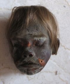 Genuine Jivaro Shrunken Head for Sale - Serious Inquiries Only! www.RealShrunkenHeads.com