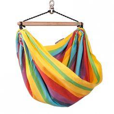 #FotelHamakowy dla dzieci Iri Rainbow #LaSiesta   La Siesta Iri Rainbow Kinderhangestuhl