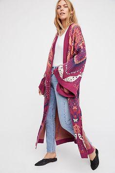 Psychedelic Kimono <3 WANT