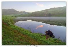 Misty morning in the Southern Drakensberg at the Khotso Horse Trails farm