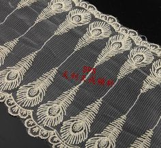 Shop our best value Lace Gold on AliExpress. Check out more Lace Gold items in Home & Garden, Lace, Jewelry & Accessories, Weddings & Events! And don't miss out on limited deals on Lace Gold! Peacock Fabric, Peacock Tail, Lace Fabric, Embroidered Bedding, Neck Pillow, Gold Lace, Sewing Crafts, Flower Embroidery, Arts