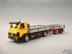 Lego Truck, Mercedes Benz Trucks, Driving School, Legos, Lego Vehicles, Brick, Europe, Cars, Ideas