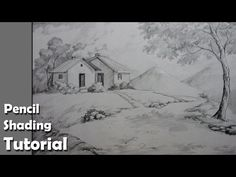 Realistic Island Drawing With Pencil, Charcoal - Guam - YouTube