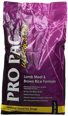 Midwestern Pet Foods PRO PAC Ultimates Lamb Meal and Brown Rice Natural Formula Dry Dog Food, 5-Pound Bag ** You can find out more details at the link of the image. (This is an affiliate link and I receive a commission for the sales) #PetDogs