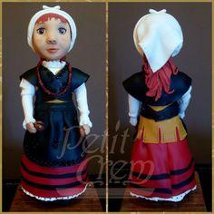 Asturianina en porcelana fría.