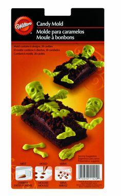 Wilton Moule à pâtisserie en forme de squelette os: Amazon.fr: Cuisine & Maison