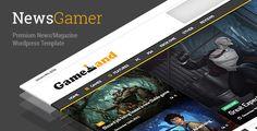 NewsGamer v1.6  Responsive WordPress News/Magazine Theme