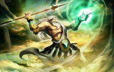 Zeus (Jupiter) - Greek God - King of the Gods and men. | Greek ...