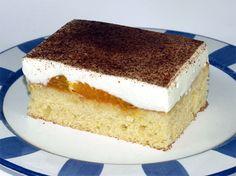 Fantakuchen Rezept: Fantakuchen-Tassenrezept mit Schmand und Mandarinen vom Blech
