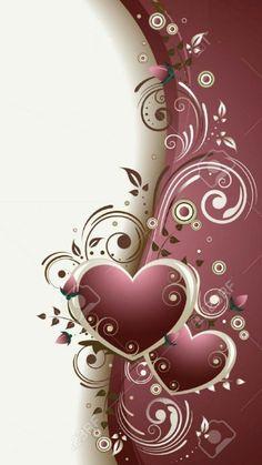 By Artist Unknown. Diamond Wallpaper, Heart Wallpaper, Butterfly Wallpaper, Love Wallpaper, Cellphone Wallpaper, Mobile Wallpaper, Wallpaper Backgrounds, Iphone Wallpaper, Valentines Wallpaper Iphone