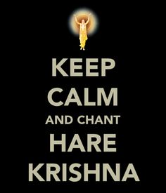 Keep calm and chant :)