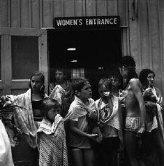Vivian Maier, Wilmette, IL (Beach Women's Entrance),1968