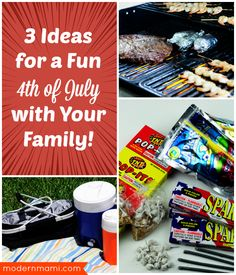 Looking to have a family-friendly Fourth of July? Check out our 3 Fourth of July ideas for family fun - all great for celebrating Independence Day!