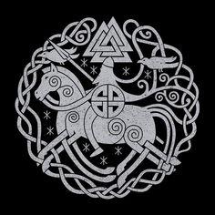Community about Norse Mythology, Asatrú and Vikings. Viking Symbols And Meanings, Magic Symbols, Ancient Symbols, Norse Tattoo, Viking Tattoos, Design Celta, Art Scandinave, Art Viking, Art Ancien