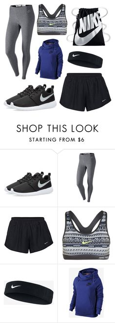"""""""Workout"""" by janelingodfrey on Polyvore featuring NIKE and nike"""