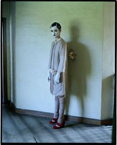 Audrey Marnay, Suffolk UK 2011, Italian Vogue. Photograph by Tim Walker
