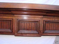 """Custom Made Fireplace Mantel Mantle Wall Shelf """"Eliza"""""""