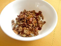 Yummy Paleo Granola - loricoxfitness.com