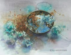 Discussion on LiveInternet - Russian Service Online Diaries Watercolor Design, Abstract Watercolor, Watercolor Flowers, Watercolour Painting, Watercolor Tattoos, Watercolors, Still Life Drawing, Flower Art, Wolf