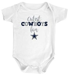a3b43ece0f6 Dallas Cowboys Infant Cutest Cowboy Bodysuit Dallas Cowboys Pro Shop,  Little Ones, Onesies,