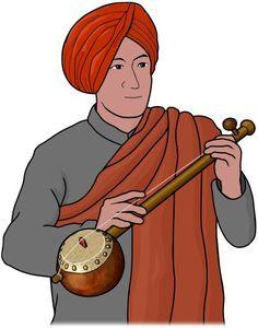 tumbi :  Indian musical instrument.