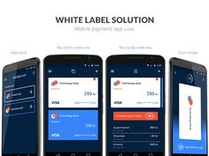 Material design payment app