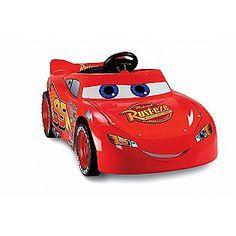 Disney -Power Wheels Lightning McQueen Super 6 christmas list
