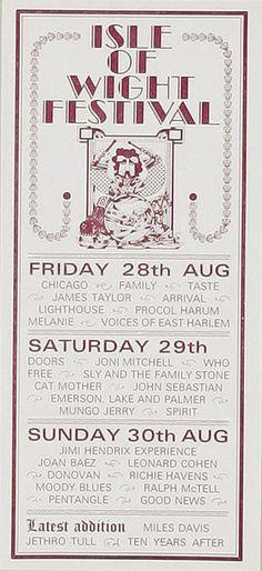 SIGNS OF LEONARD COHEN: ISLE OF WIGHT 1970 HANDBILL  http://drhguy.com/2013/10/12/signs-of-leonard-cohen-isle-of-wight-1970-handbill/