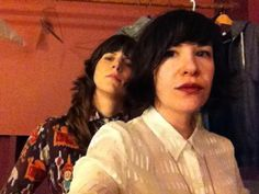 Carrie Brownstein     @Carrie_Rachel:         Friedstein AKA @EleanorOnly and CRB in Atlanta. pic.twitter.com/Zj5lSADy