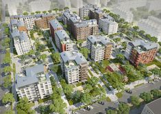 20 Finalists Announced in International Housing Competition for Russia,2Portala Entry. Image Courtesy of Strelka KB