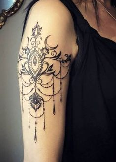 Tattoo Designs: 101 Tasteful Lace Tattoos Designs and Ideas Neue Tattoos, Bad Tattoos, Trendy Tattoos, Body Art Tattoos, Sleeve Tattoos, Tasteful Tattoos, Lace Tattoo Sleeves, Tatoos, Wrist Tattoos