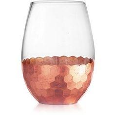 American Atelier Daphne Set Of 4 Stemless Wine Glasses