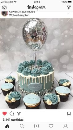 Best Ideas for birthday cake cute desserts Fancy Cakes, Cute Cakes, Pretty Cakes, Beautiful Cakes, Amazing Cakes, Fondant Girl, Fondant Cakes, Cupcake Cakes, Bolo Drip Cake