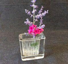 Vase DAUM en cristal. Design 1980. par 7RueStAntoine sur Etsy