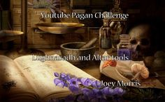 Youtube Pagan Challenge - Lughnasadh and Altar tools