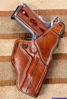 Custom outside waistband gun holster 1911 FBI Holster #gunholster