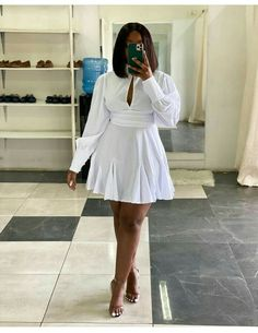 Casual Dress Outfits, Sexy Outfits, Stylish Outfits, All White Outfit, White Outfits, Classy Casual, Classy Dress, Fashion Killa, Women's Fashion
