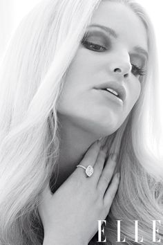 Hot mama Jessica Simpson shows off her enviable bone structure in our April 2012 issue.